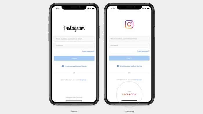 Facebook Cria Nova Logotipo Para Usar no Instagram e WhatsApp